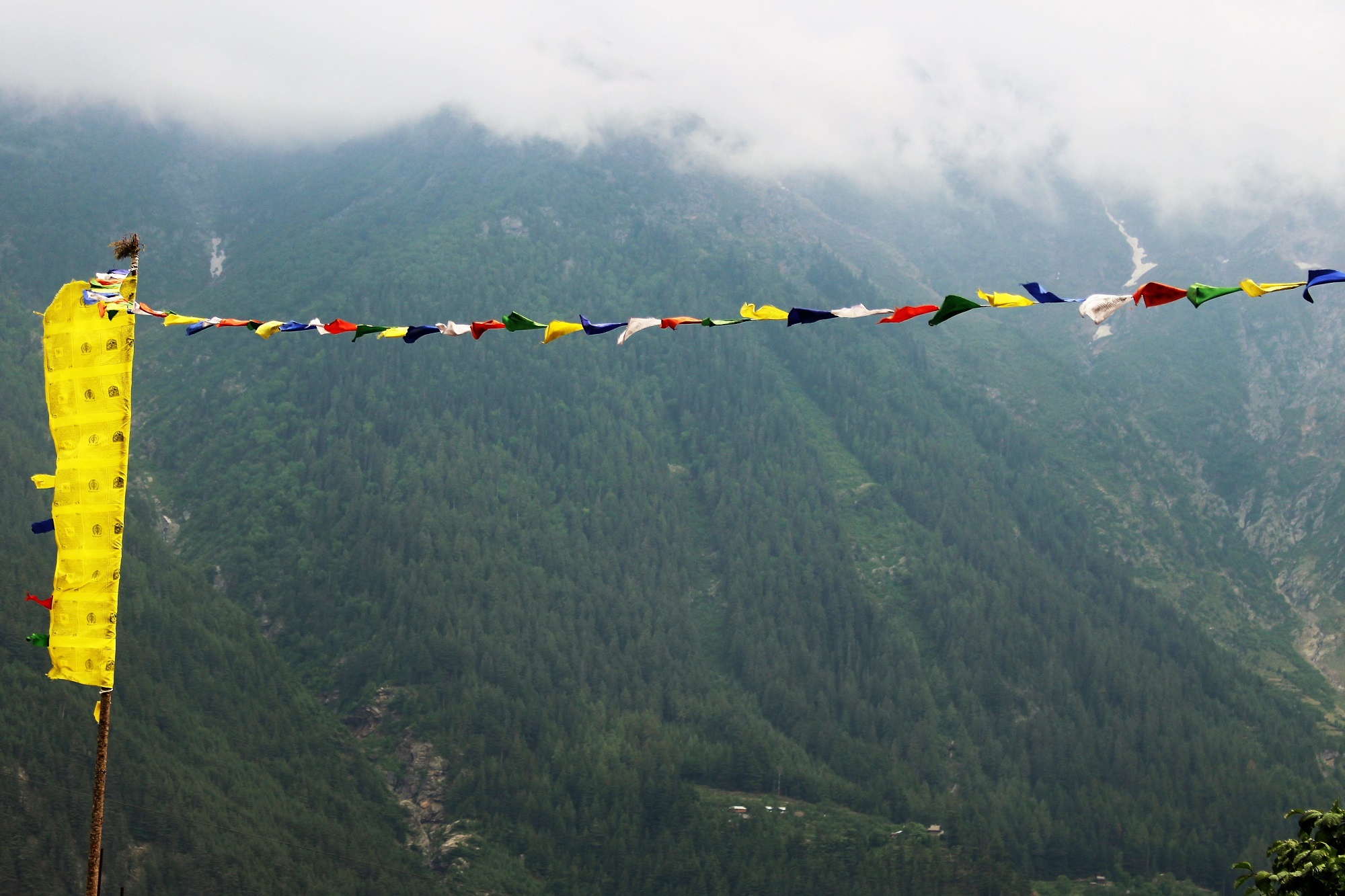 The significance of Buddhist prayer flag and what it means