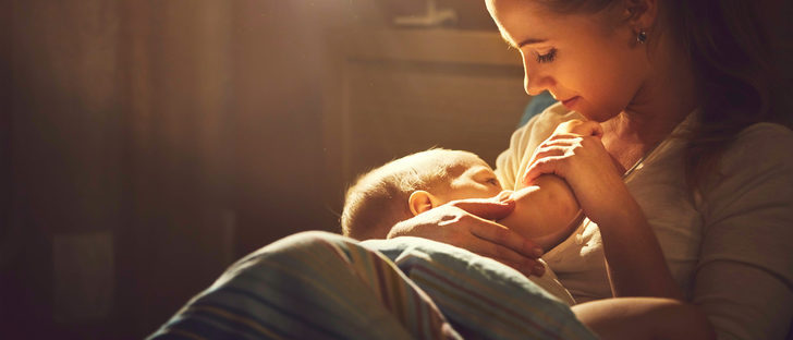 El olor del recién nacido es una droga para la madre