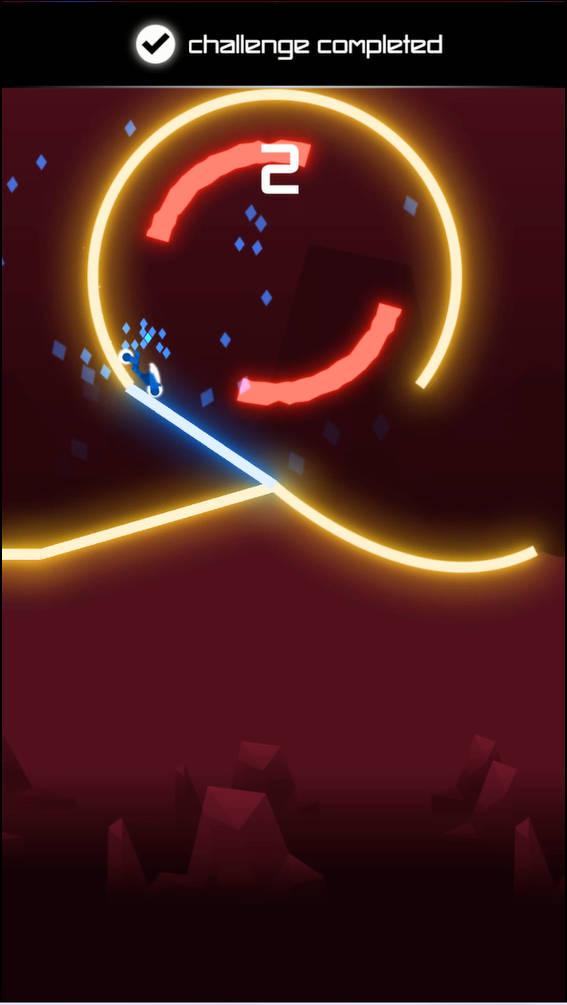 Rider ゲーム画面