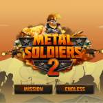 METAL SOLDIERS 2 タイトル画面