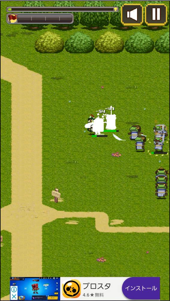 kerohiro ゲーム画面