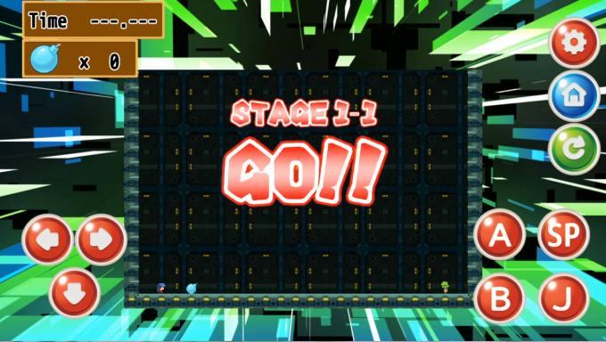 ボンバーレディ ゲーム画面ボンバーレディ ゲームイメージ