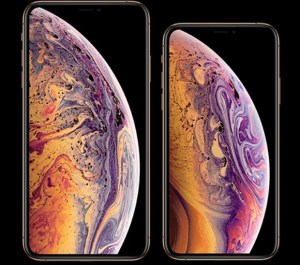 iPhone XS display
