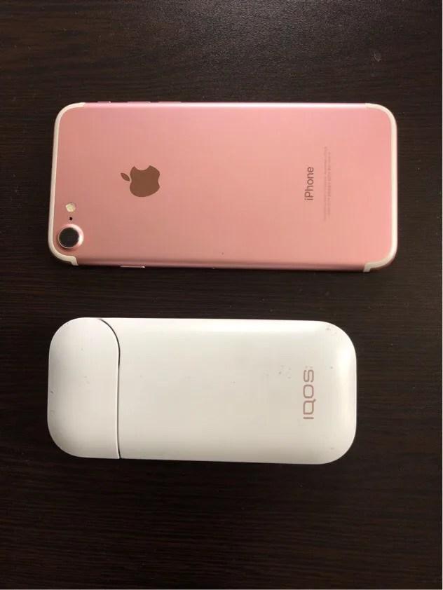 iPhone7アイコス