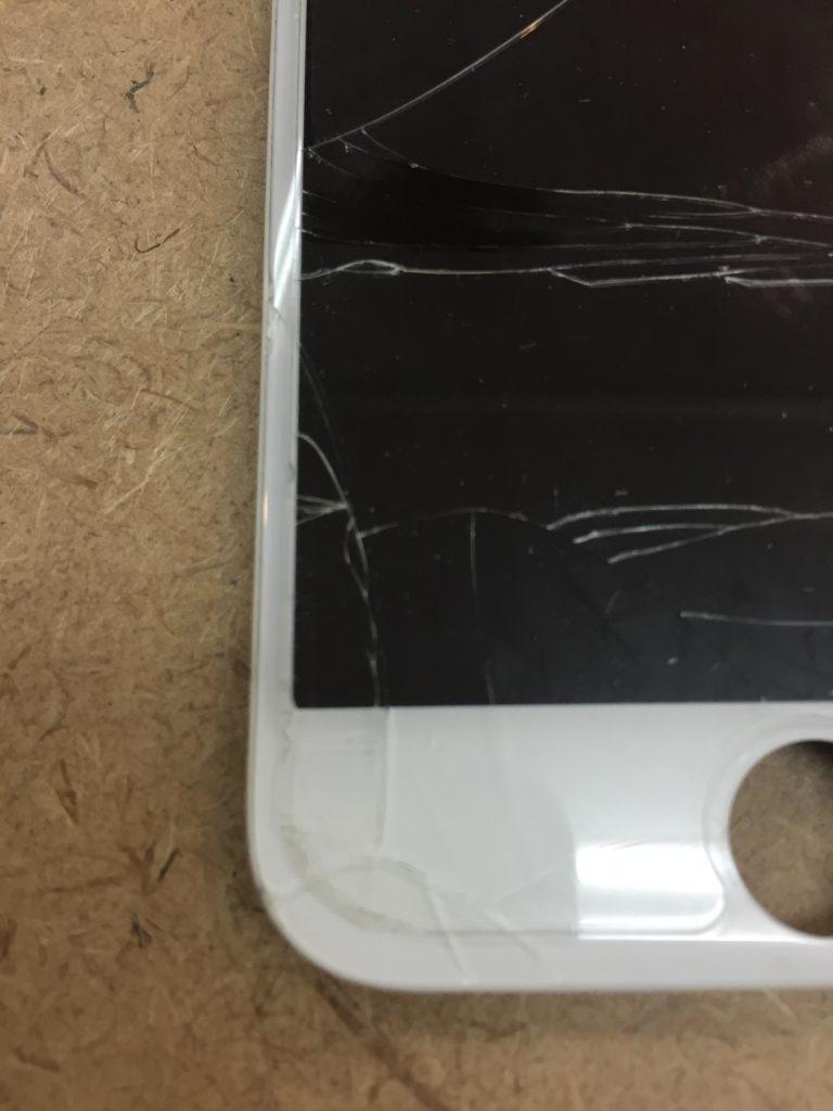 iphone6 画面割れ2 6/14
