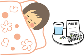 インフルエンザになったら解熱後何日で登校できる?予防接種の効果は?