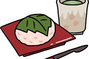 桜餅の関東風と関西風の違いは?道明寺粉はもち米とは違うの?