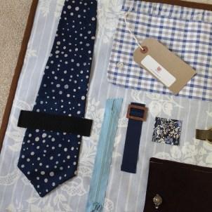 Tie, zip and buckle