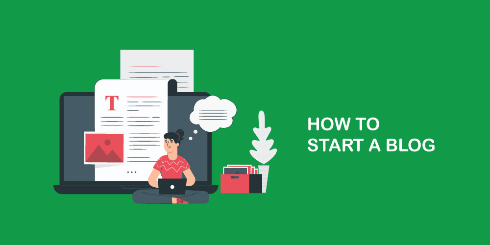 How to start a blog featured