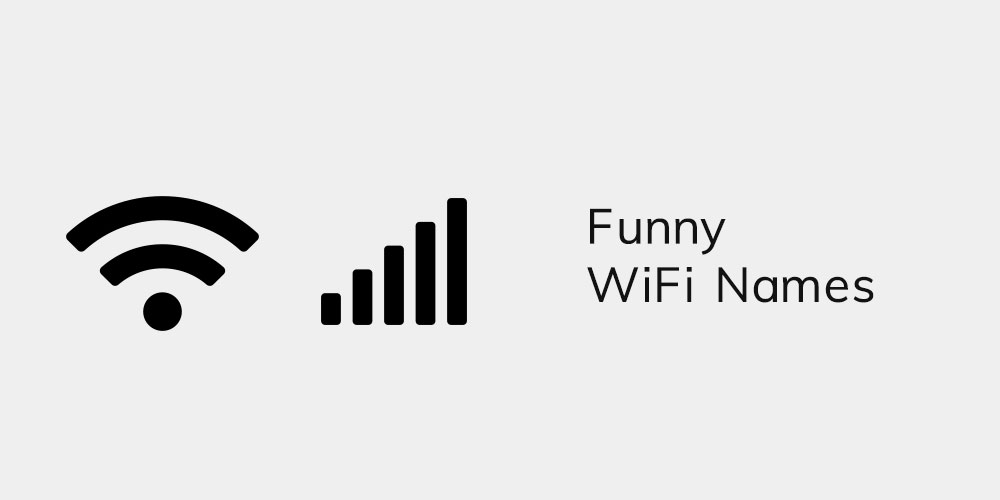 Funny WiFi Names featured image
