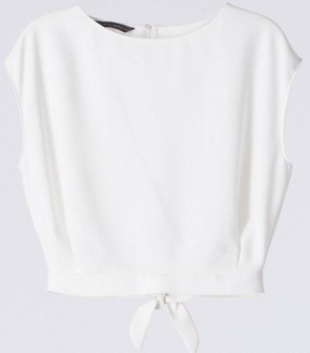 Camisa escote espalda - SuiteBlanco