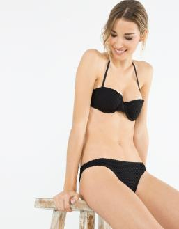 Bikini negro - Blanco