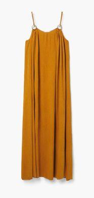 Vestido maxi de algodón - Mango