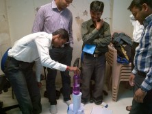 Team activity with Bajaj Allianz in Kolhapur