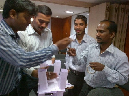 Sales training for Bajaj Allianz in Pune