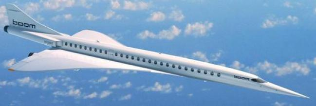 Boom Technology airliner concept