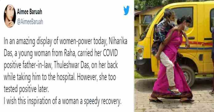 a woman power today (Covid Issue)