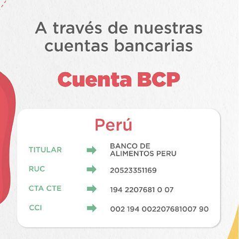 DONACIONES BANCO DE ALIMENTOS