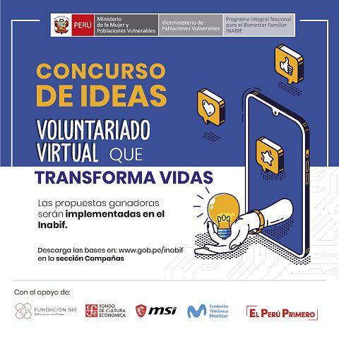 CONCURSO DE IDEAS VOLUNTARIADO