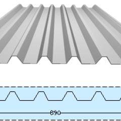 Kanopi Baja Galvanis Pt. Chandra Satya: Atap Decking