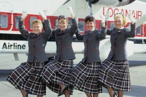 1988 Loganair Stewardesses