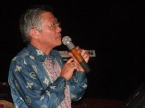 Assisten Daerah Kabupaten Sumedang saat memberikan sambutan.