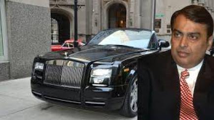 Mukesh Ambani: Rolls Royce