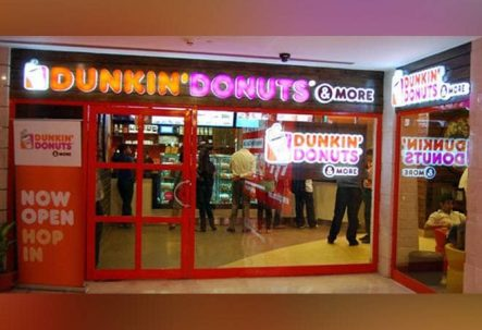 Dunkin Donut store in India