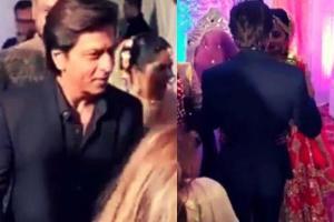 surprise visit of SRK