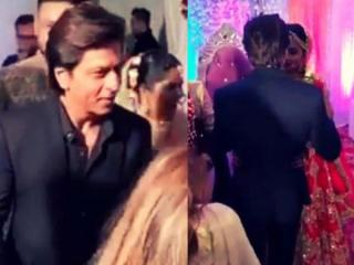 surprise visit of SRK