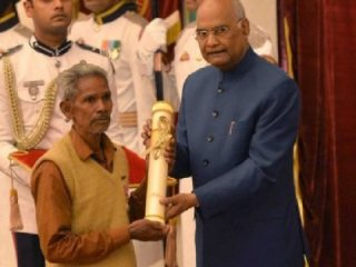Being Awarded Padma Shri For Sicial Work