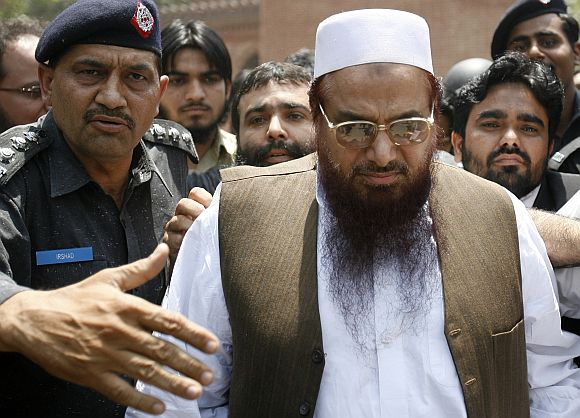 Hafiz Saeed arrested in Lahore