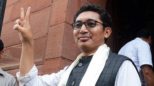 Namgyal becomes BJP sensation.