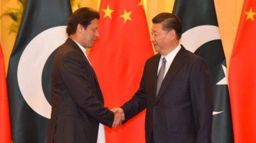 China backed Pakistan