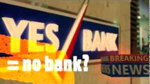 Politics of YES bank