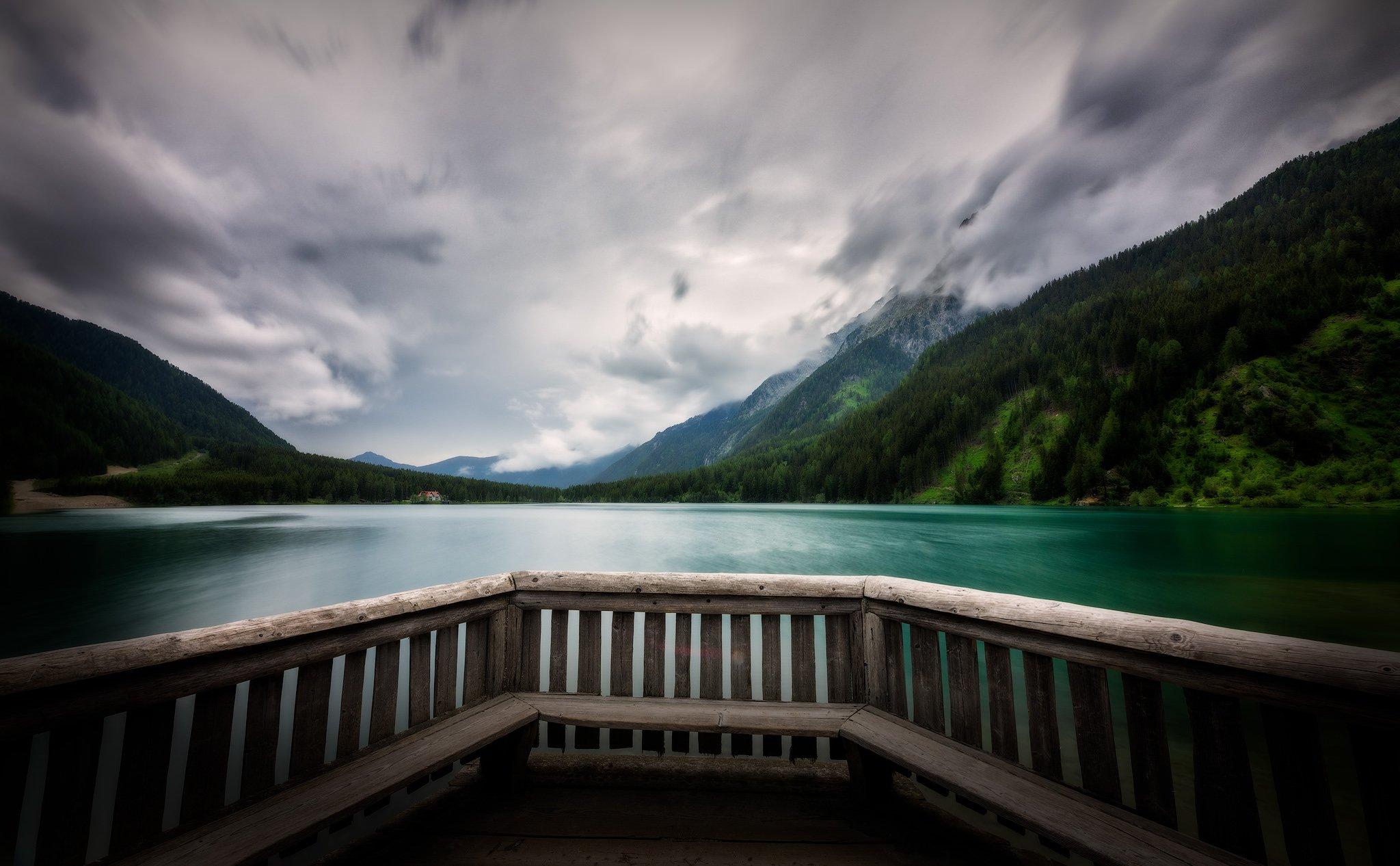 Jezioro Antholz w Południowym Tyrolu | Dolomity, Włochy