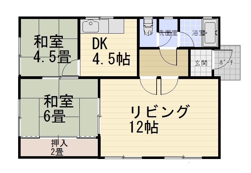 岩手県花巻市 田園を望む高台の家 400万円
