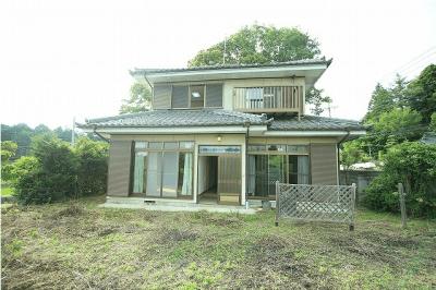 山梨県北杜市 南アルプスを眺める戸建て住宅 3LDK 750万円