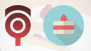 フラットなショートケーキのアイコン #042