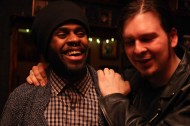 Mitchell Louis and friend at The Flat in Brooklyn©Sumi Naidoo, 2014, All Rights Reserved