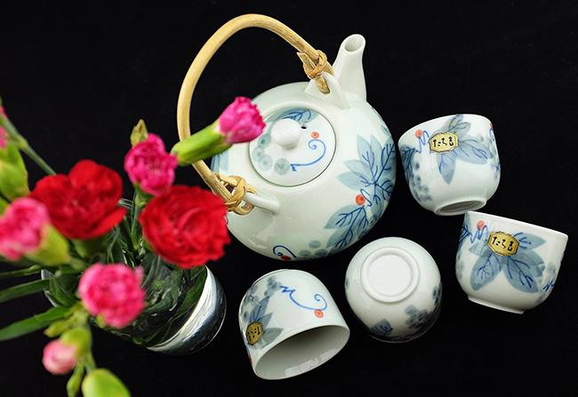 bộ ấm trà cao cấp nhật bản kyu su
