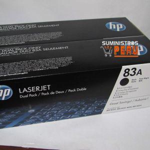 Toner HP dual pack 83AD CF283AD,