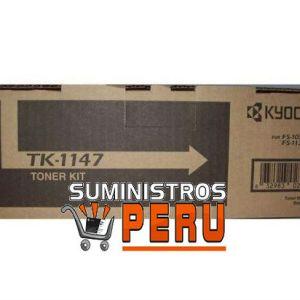 toner kyocera tk-1147 ,Color: Negro, Compatibilidad: Kyocera FS-1035 MFP/ FS-1135 MFP, Rendimiento:12000 páginas.