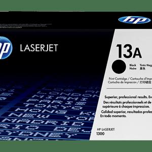 TONER HP 13A Q2613A, Color: Negro, Compatibilidad: HP LASERJET 1300/1300N, Rendimiento: 2500 páginas.