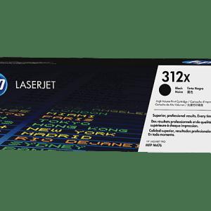 TONER HP 312X NEGRO,Color: Negro, Compatibilidad:LaserJet Pro M476dn/ M476dw/ M476nw, Rendimiento: 4400 páginas.