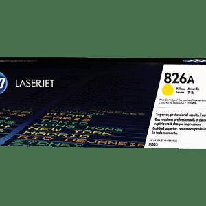 Color: Amarillo, Compatibilidad: HP LASERJET M855, Rendimiento: 31500 páginas.