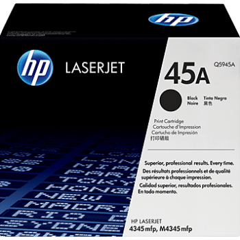 TONER HP LJ 4345 SERIES BLACK - 18K