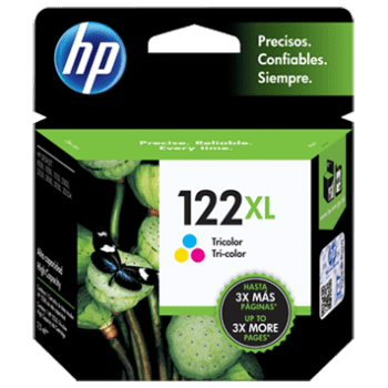 Tinta HP 122XL Color CH564HL