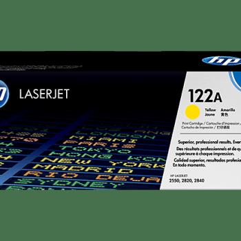 Toner HP 122A Q3962A,, Cartucho de tóner original LaserJet HP 122A amarillo