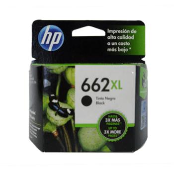 TINTA HP CZ105AL 662XL NEGRO 360 PAG